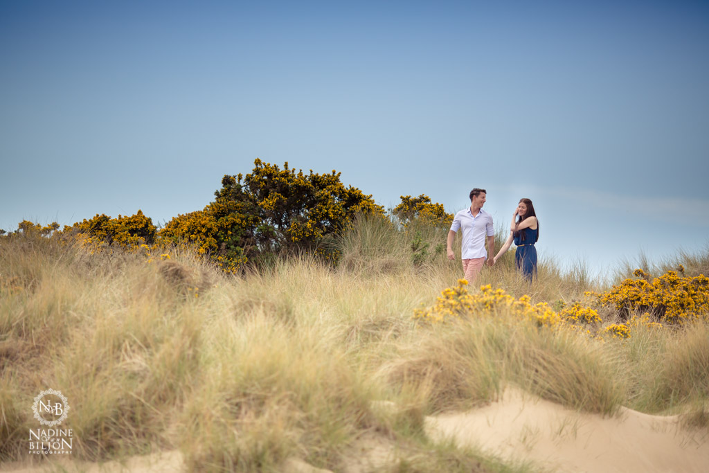 Couple on the dunes