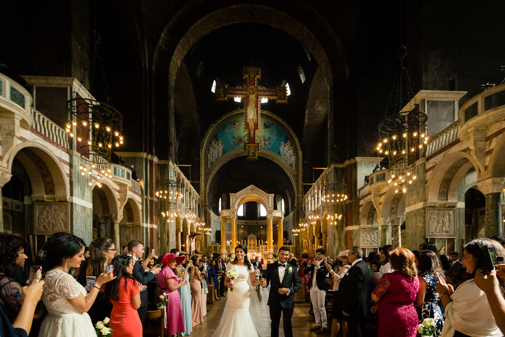 Westminster Cathedral Wedding Photographer
