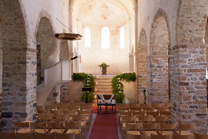 Swiss Church Wedding