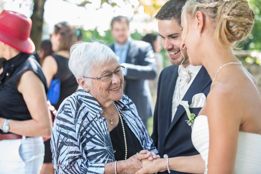 Groom and Grandma
