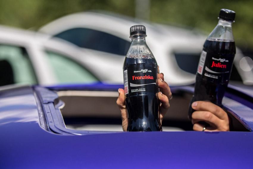 Personalised Coke Bottles