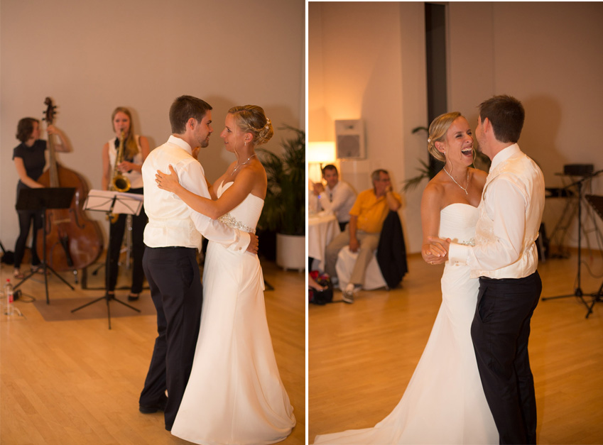 Brie and Groom First Dance