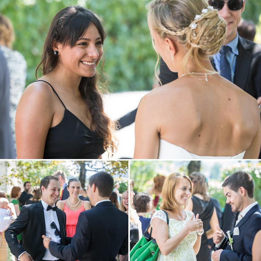 Greeting Wedding Guests