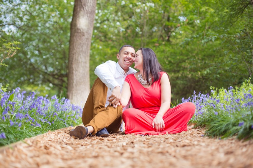 Happy engagement photos