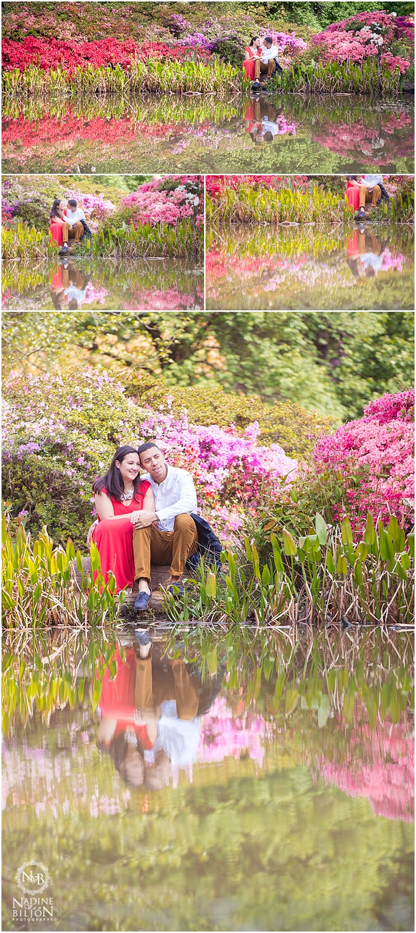 Isabella Plantation Engagement photos
