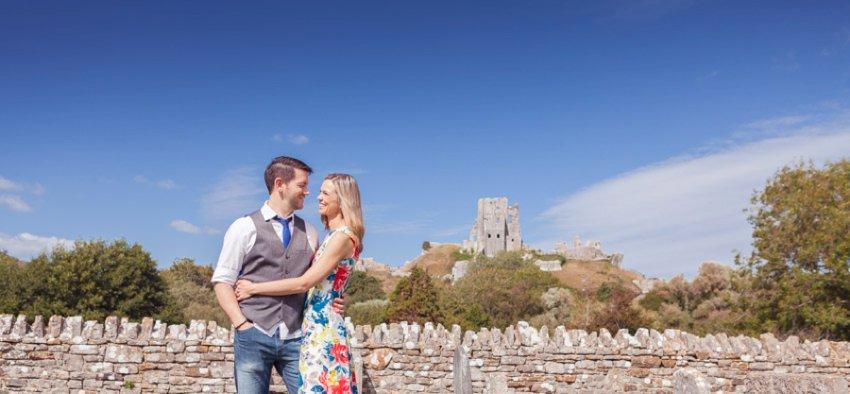 Corfe Castle Wedding Photographer