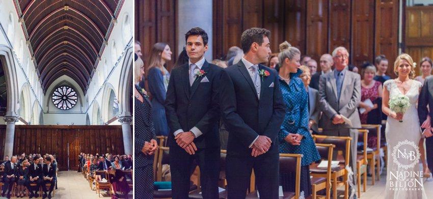 St Matthias Church wedding RIchmond