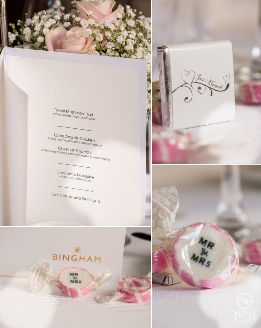 Bingham hotel wedding richmond