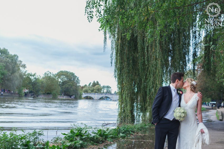 Wedding by the Thames