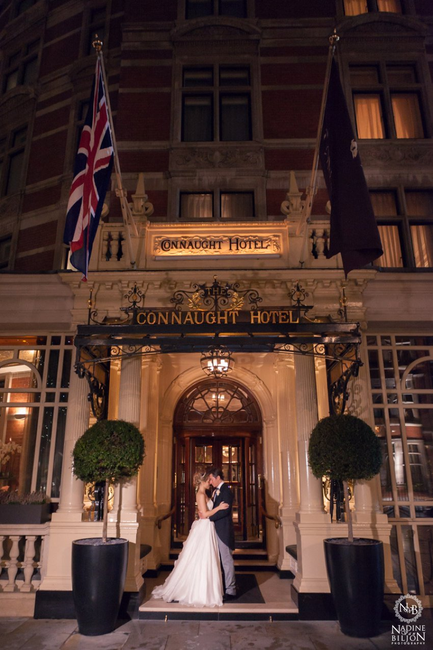 Connaught hotel wedding