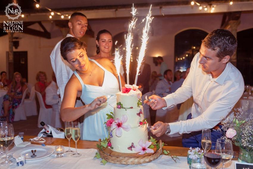 Wedding cake by Milli's Kitchen