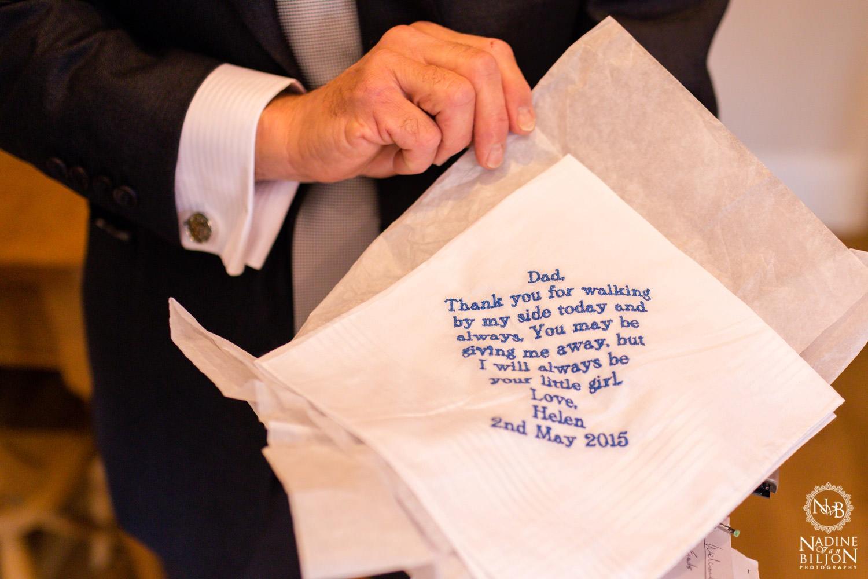 original gift for parents at wedding