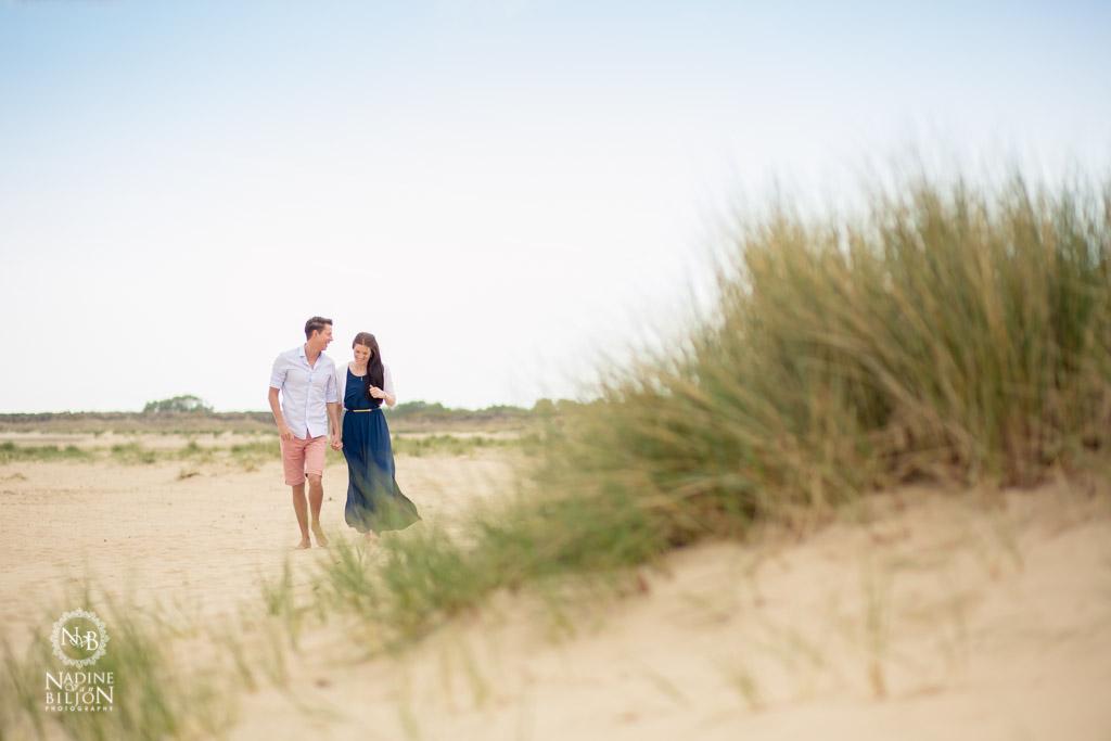 Studland Beach Engagement Shoot