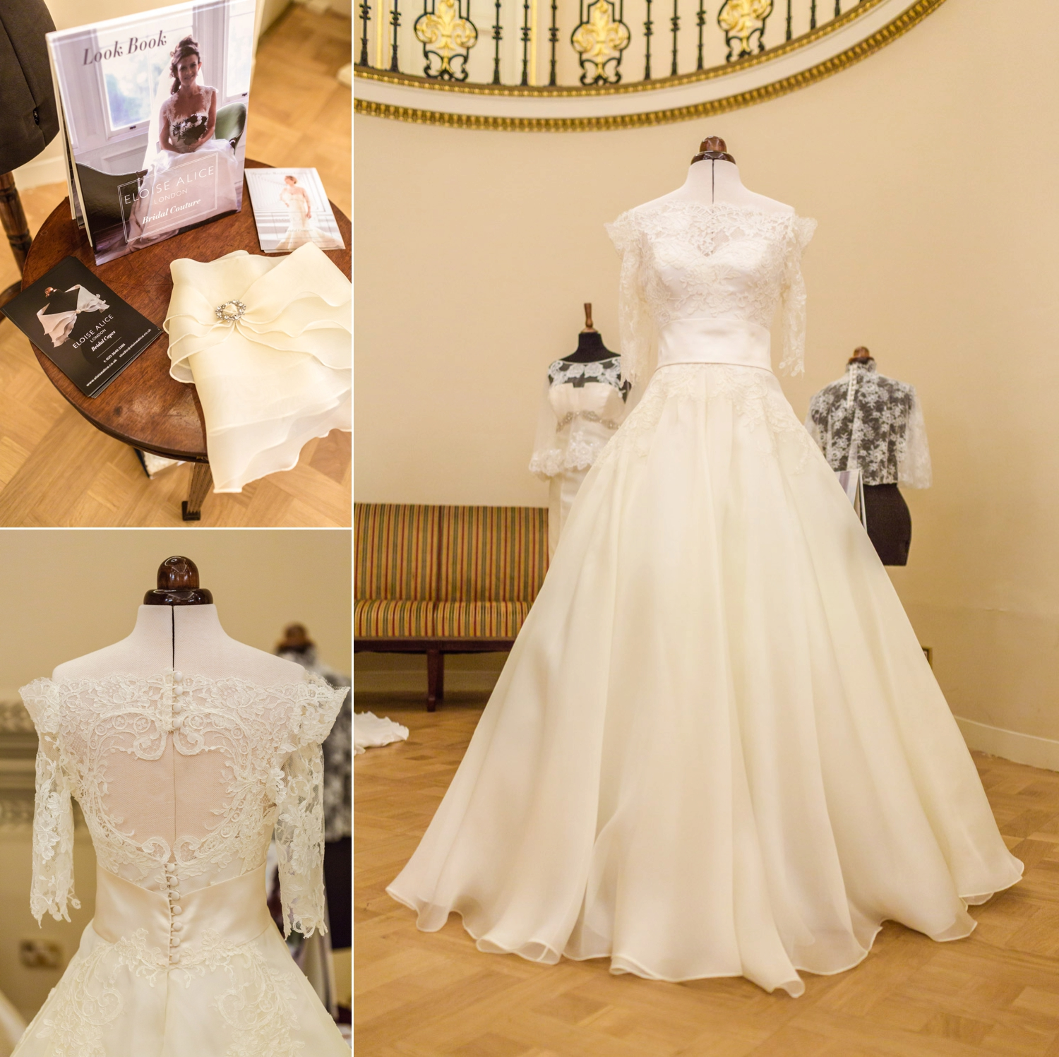 Elegant gowns by Allure Bridals