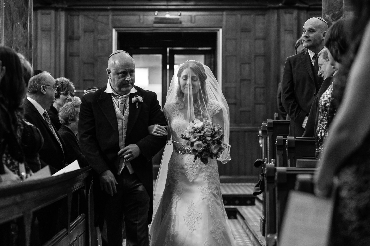 Bride and father entrance